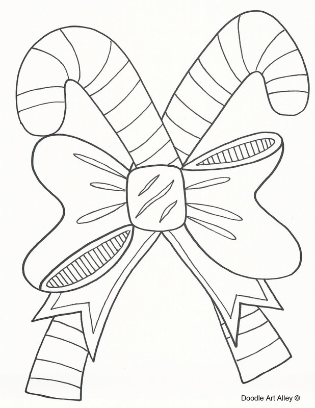 christmas art coloring pages - photo#18