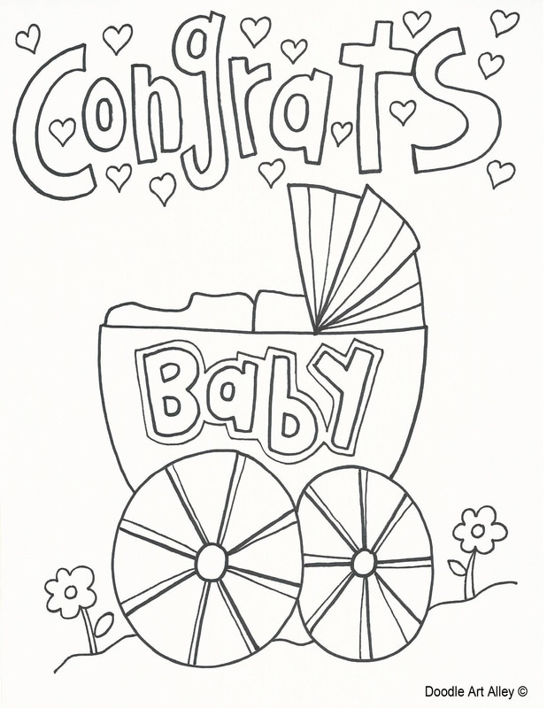 Celebration Coloring Pages - Doodle Art Alley