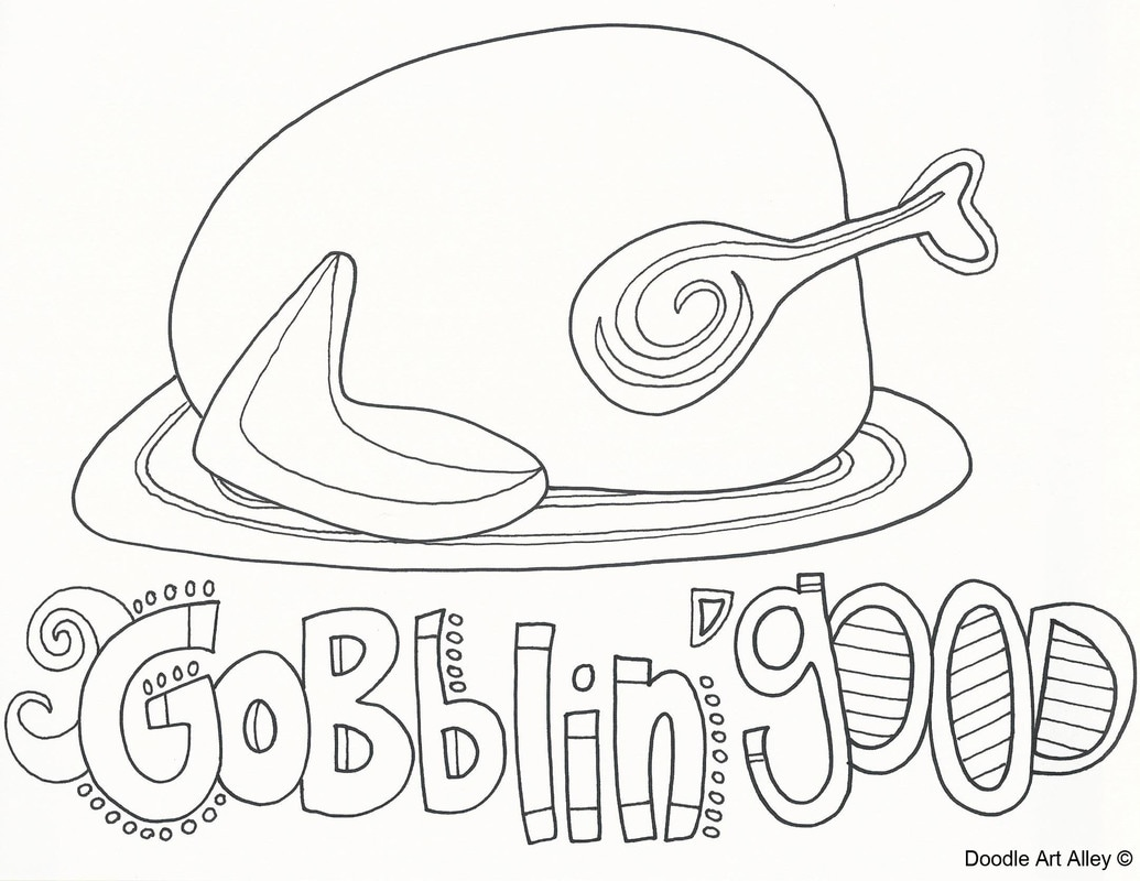 picture - Thanksgiving Coloring Books