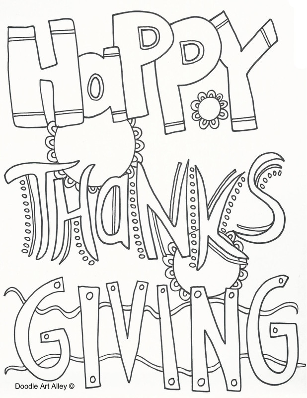 happy thanksgiving - Thanksgiving Coloring Books