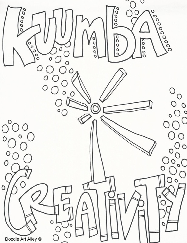 Kwanzaa Coloring Pages Doodle Art Alley - Kwanzaa-coloring-pages