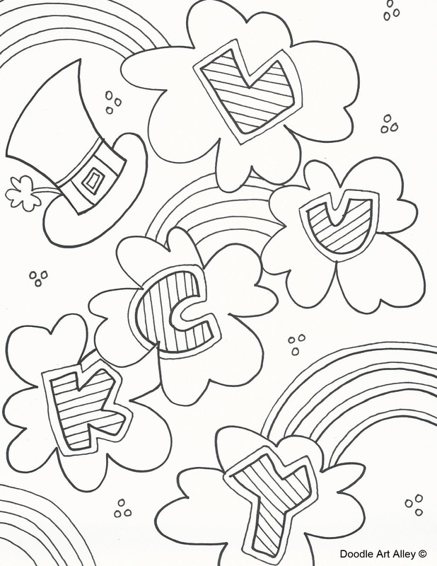 st particks day coloring pages - photo#31
