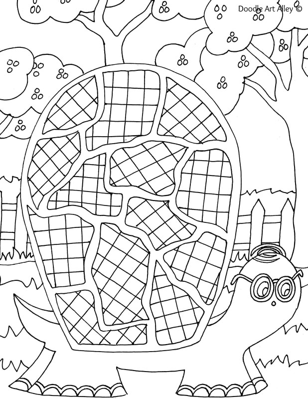 Desert animal coloring pages doodle art alley for Doodle art alley coloring pages