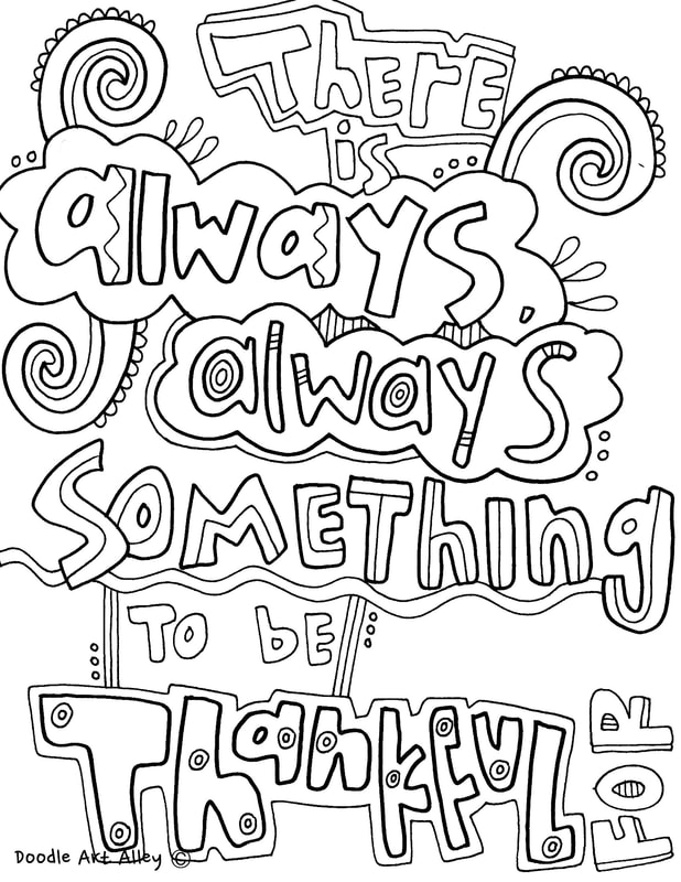 - Quote Coloring Pages - DOODLE ART ALLEY