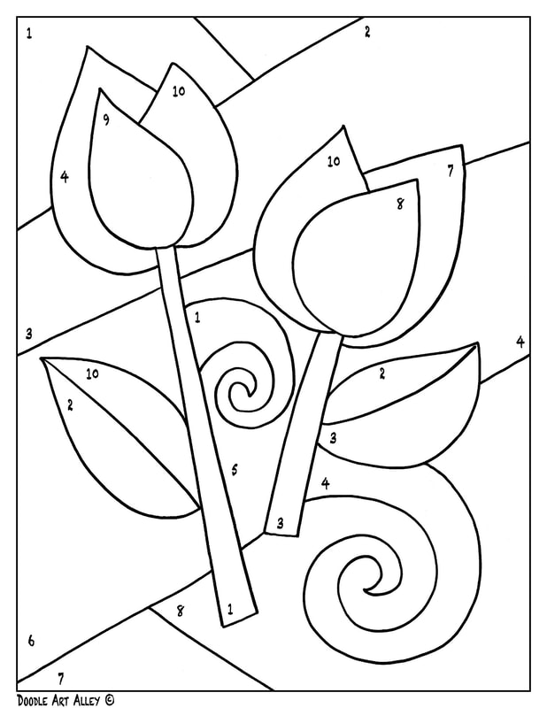 - Valentines Day Coloring Pages - DOODLE ART ALLEY