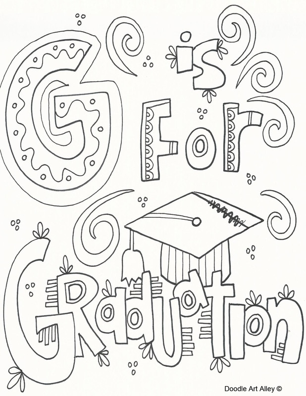 This is an image of Stupendous Preschool Graduation Coloring Pages