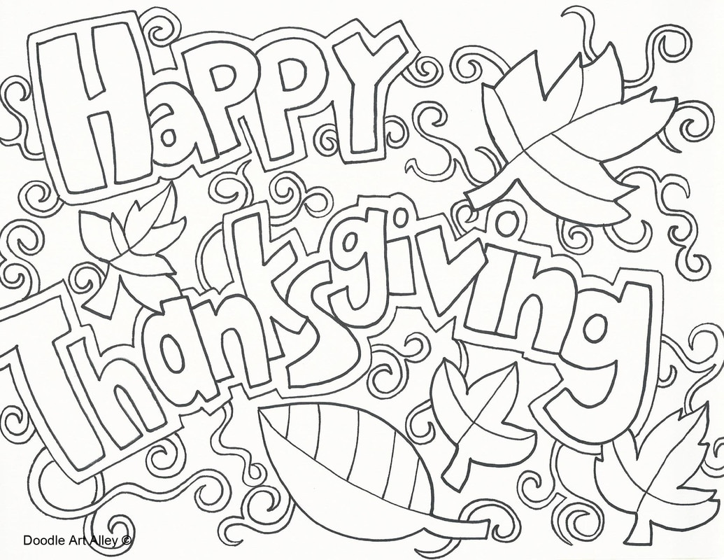 FREE Thanksgiving Coloring Pages for Adults & Kids - Happiness is ... | 800x1035