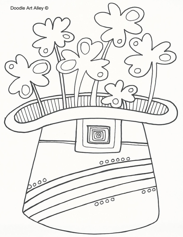 Free Coloring Pages - DOODLE ART ALLEY