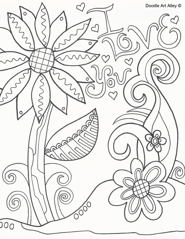 - Mothers Day Coloring Pages - DOODLE ART ALLEY