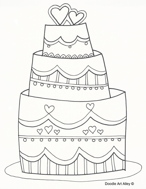 - Wedding Coloring Pages - DOODLE ART ALLEY
